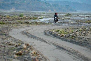 Feb 18,2018 Aboriginal motorcycle ride at Pinatubo, Capas