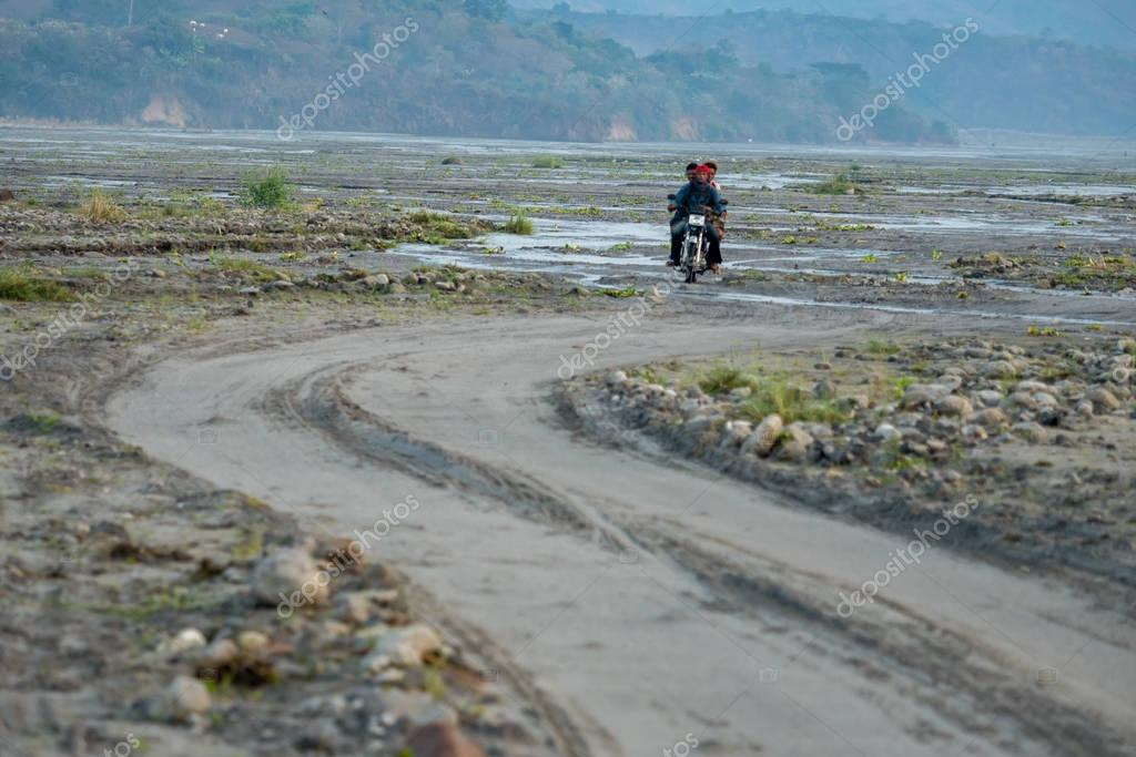 Feb 18,2018 Aboriginal motorcycle ride at Pinatubo, Capas