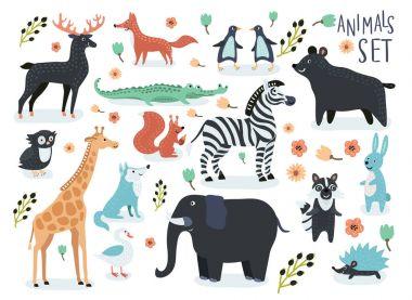 cartoon funny cute animals