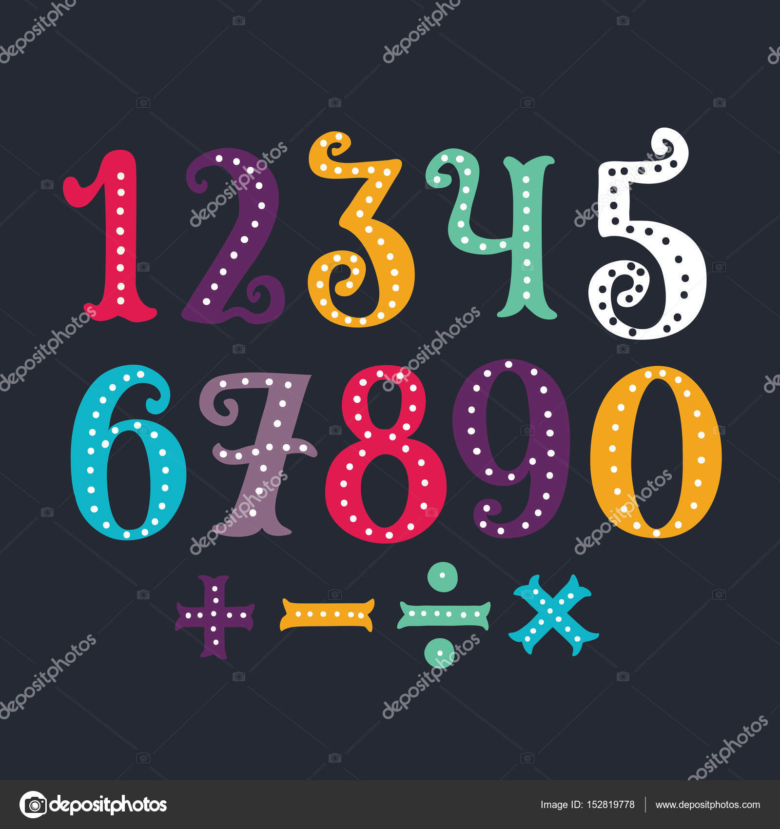 vector of vintage carnival font and alphabet stock vector cosmaa