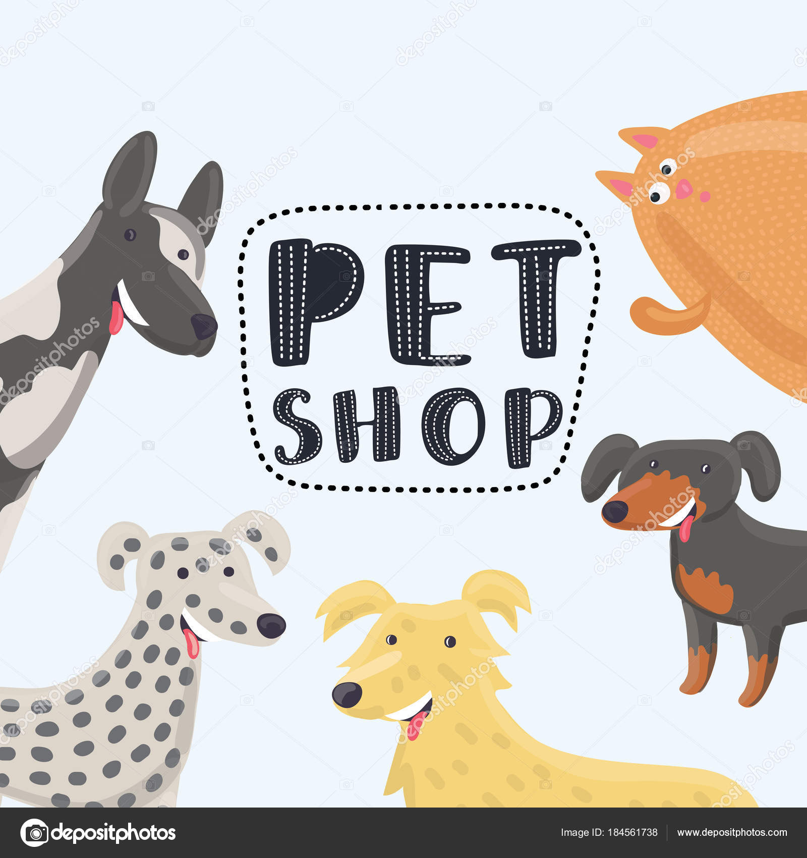 vector logo design template for pet shops veterinary