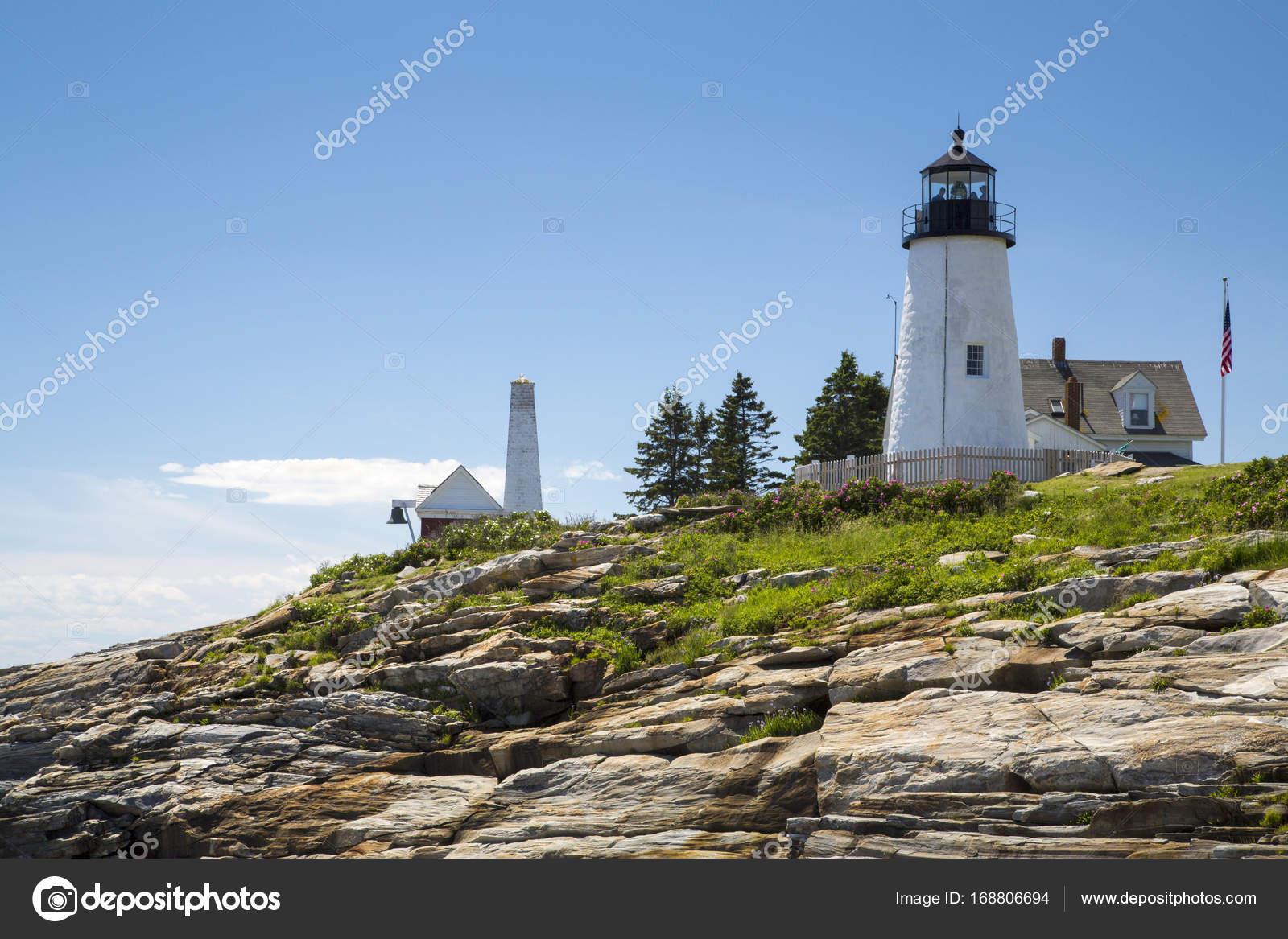The Pemaquid Point Lighthouse U2014 Stock Photo