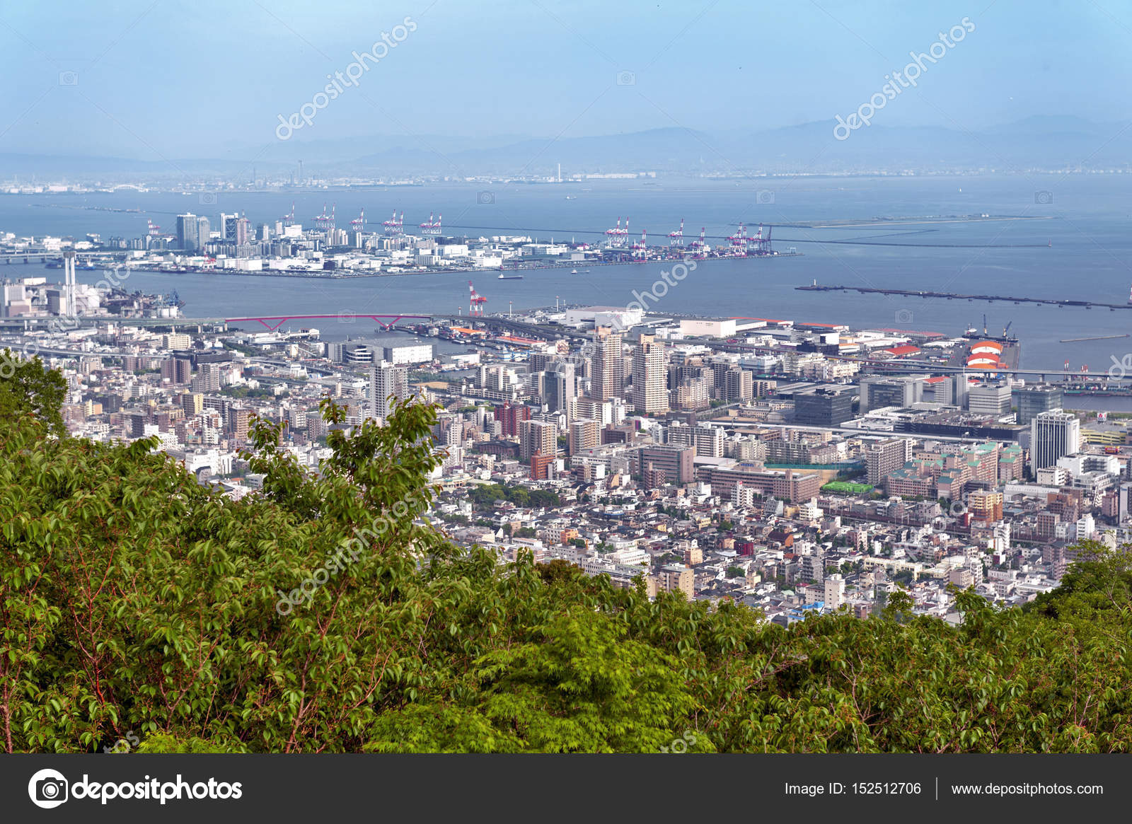 Aerial view of kobe city and port island of kobe from mount rokko aerial view of kobe city and port island of kobe from mount rokko skyline and cityscape of kobe hyogo prefecture japan photo by jiggotravel publicscrutiny Images