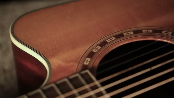 Acoustic Guitar On The Stage Stock Video C Michael Titov Yandex By