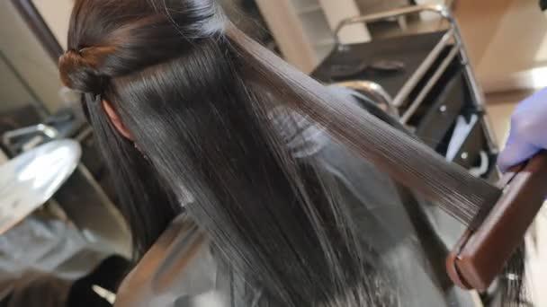 Composition de la keratine des cheveux