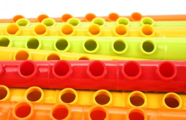 Plastic colorful music toys