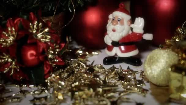 Tančící hračky Santa Claus