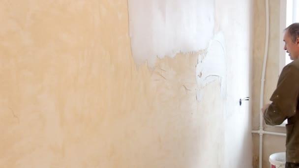 muž Omítání zdí