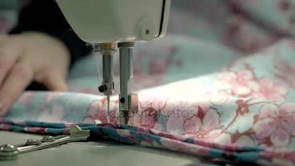 Process Of Quilting On Patchwork Blanket Close Up Sewing Machine Extraordinary How To Quilt A Blanket With Sewing Machine