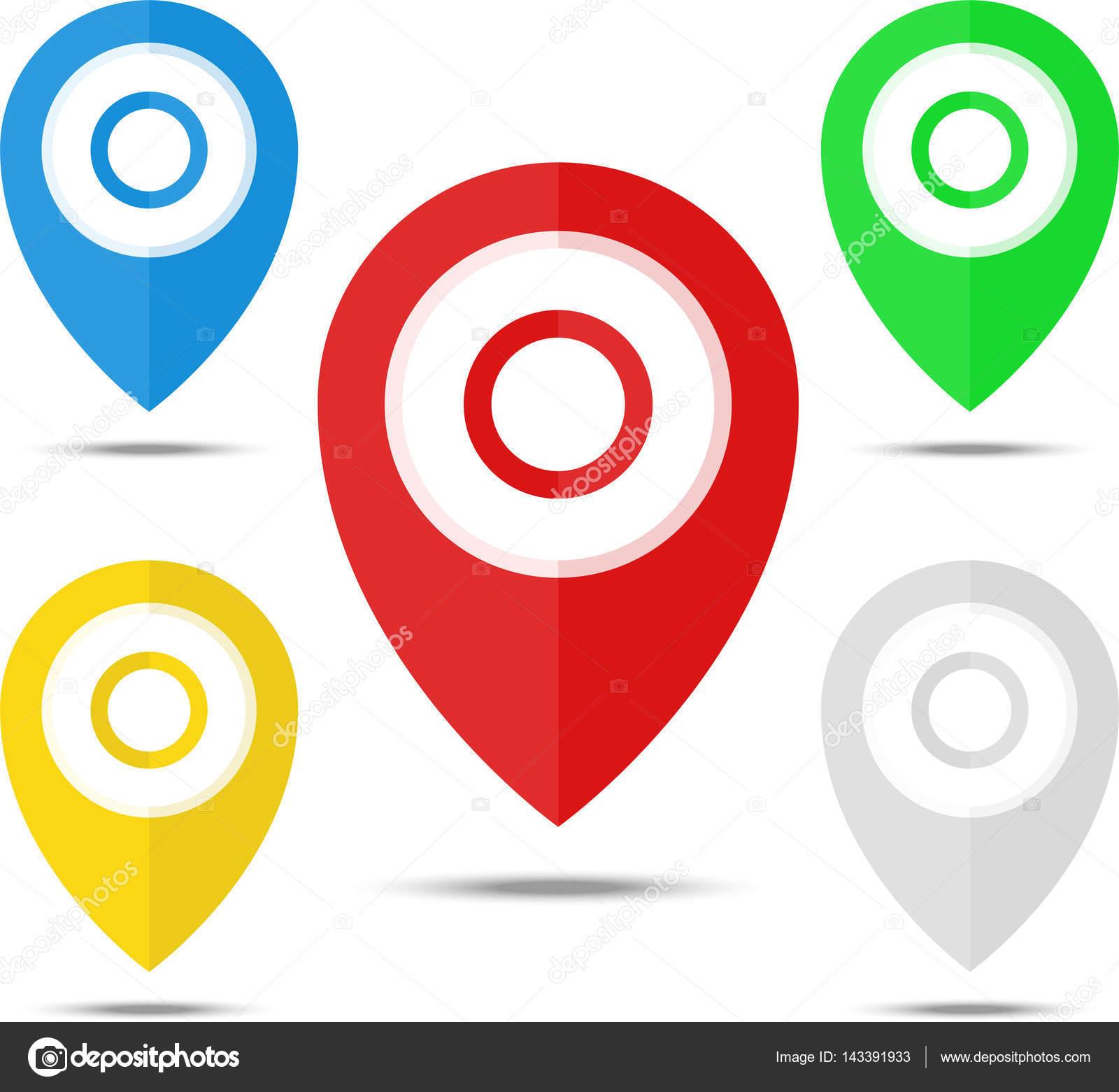 pins map