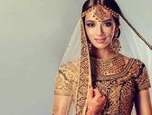 Porträt der schönen indischen Mädchen