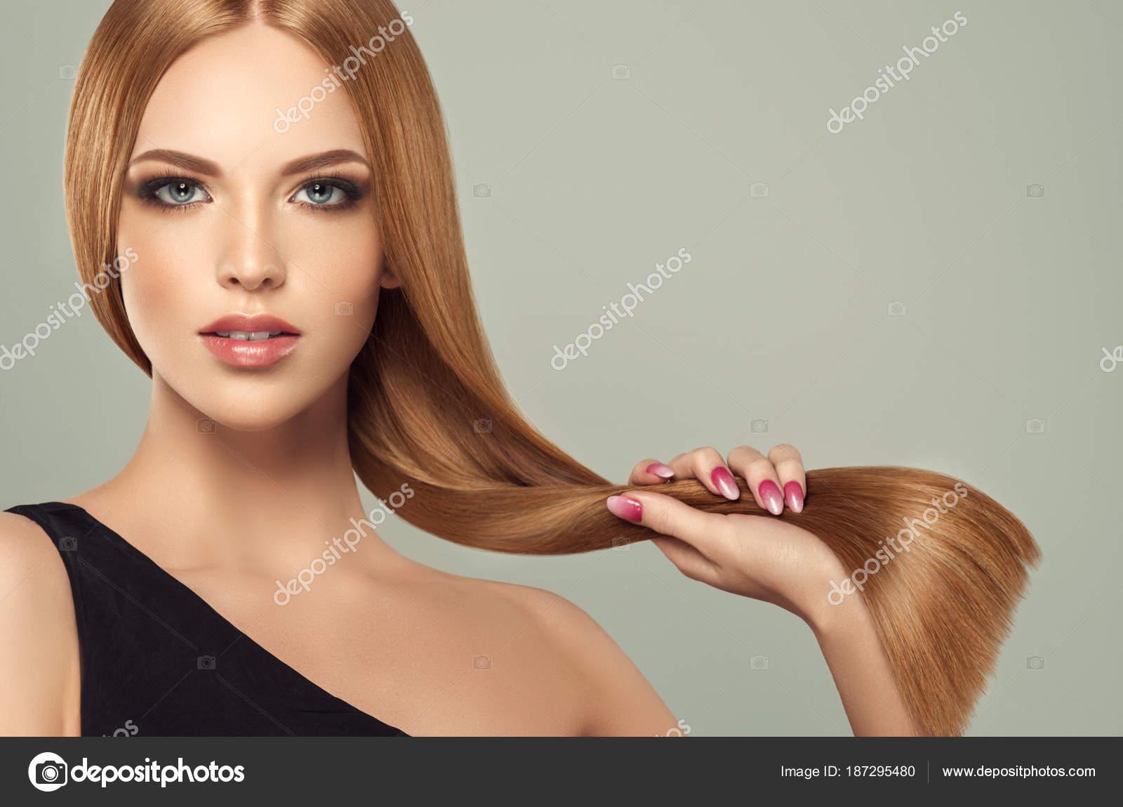Frisuren halblange haare braun