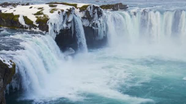 Vodopád Přírodní krajina na Islandu