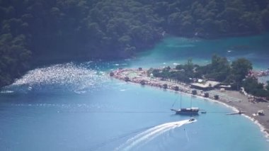 Oludeniz Turkey Aerial Shot
