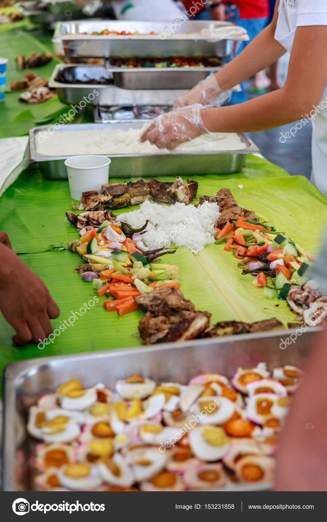 Boodle Fight Philippine Cuisine Culture Photo By Artyoorangmail