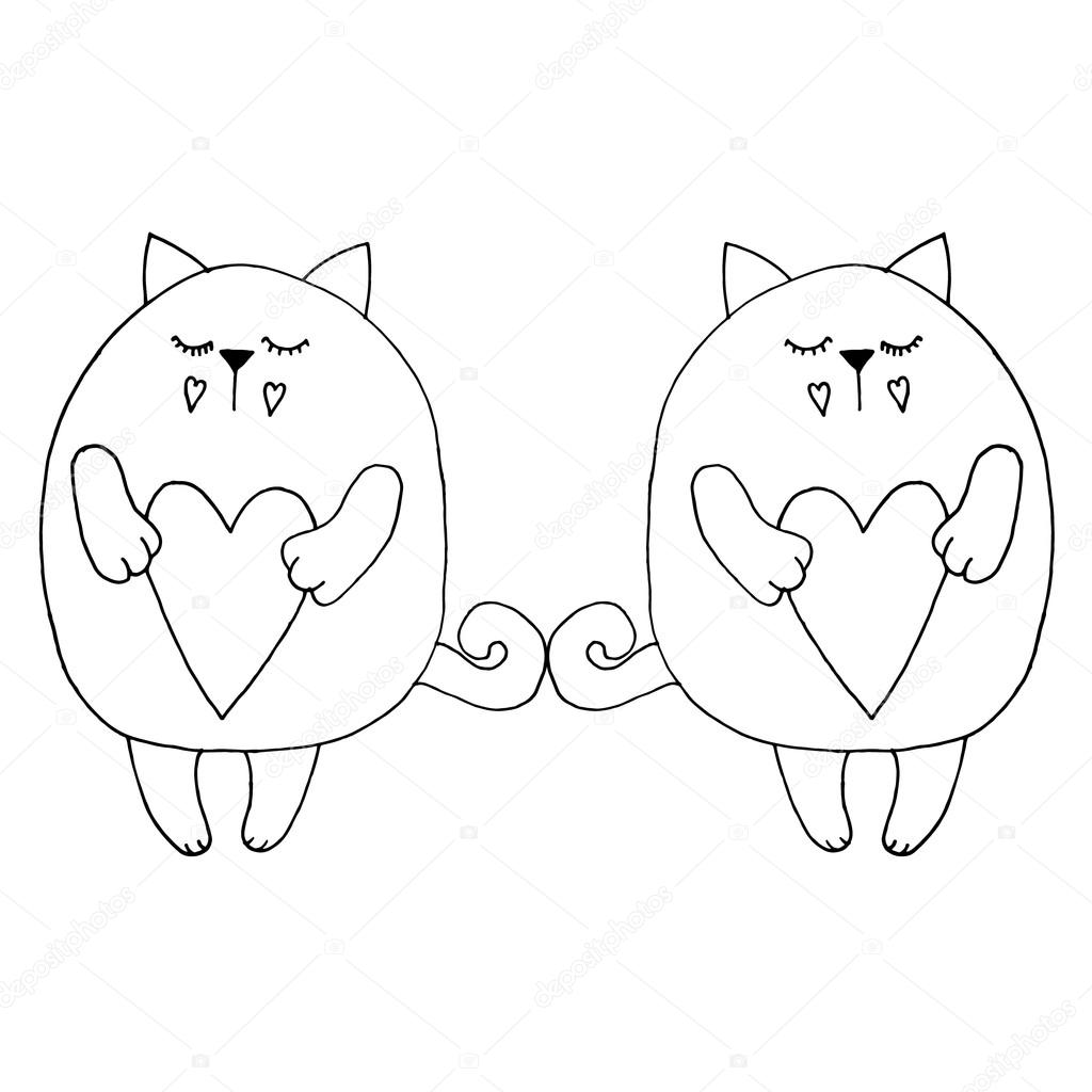 Vector Illustration Cat Cat Face Cat Icon Vector Illustration Cat