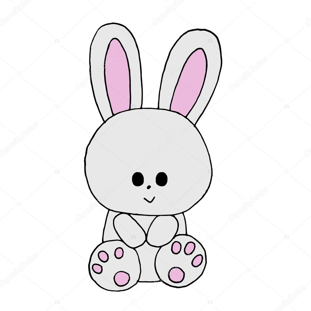 Bunny cartoon. Cute rabbit cartoon. Bunny cartoon. Cute ...