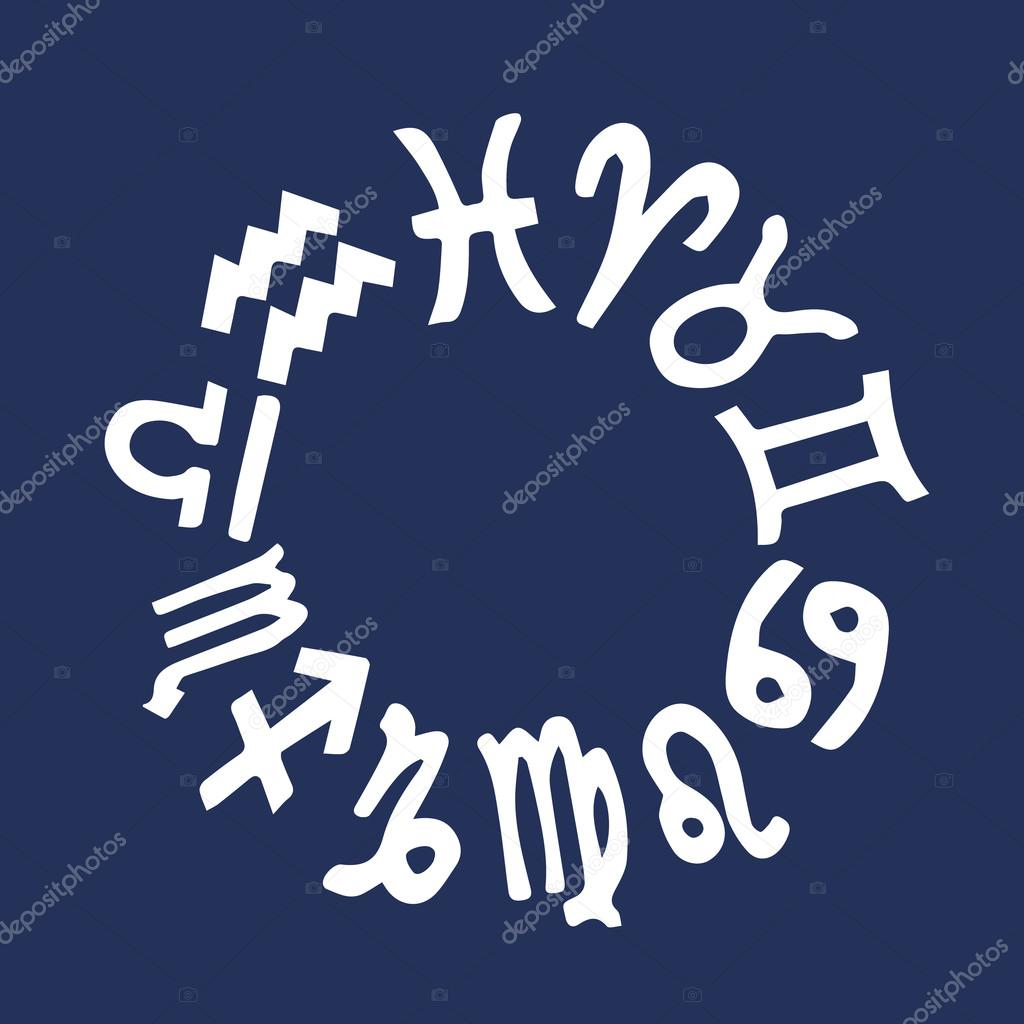 The signs of the zodiac  Zodiac astrology signs  Zodiac set