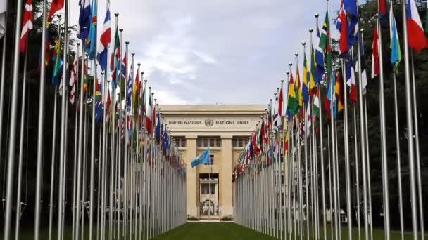 Beautiful of United Nations Office at Geneva (UNOG), Switzerland