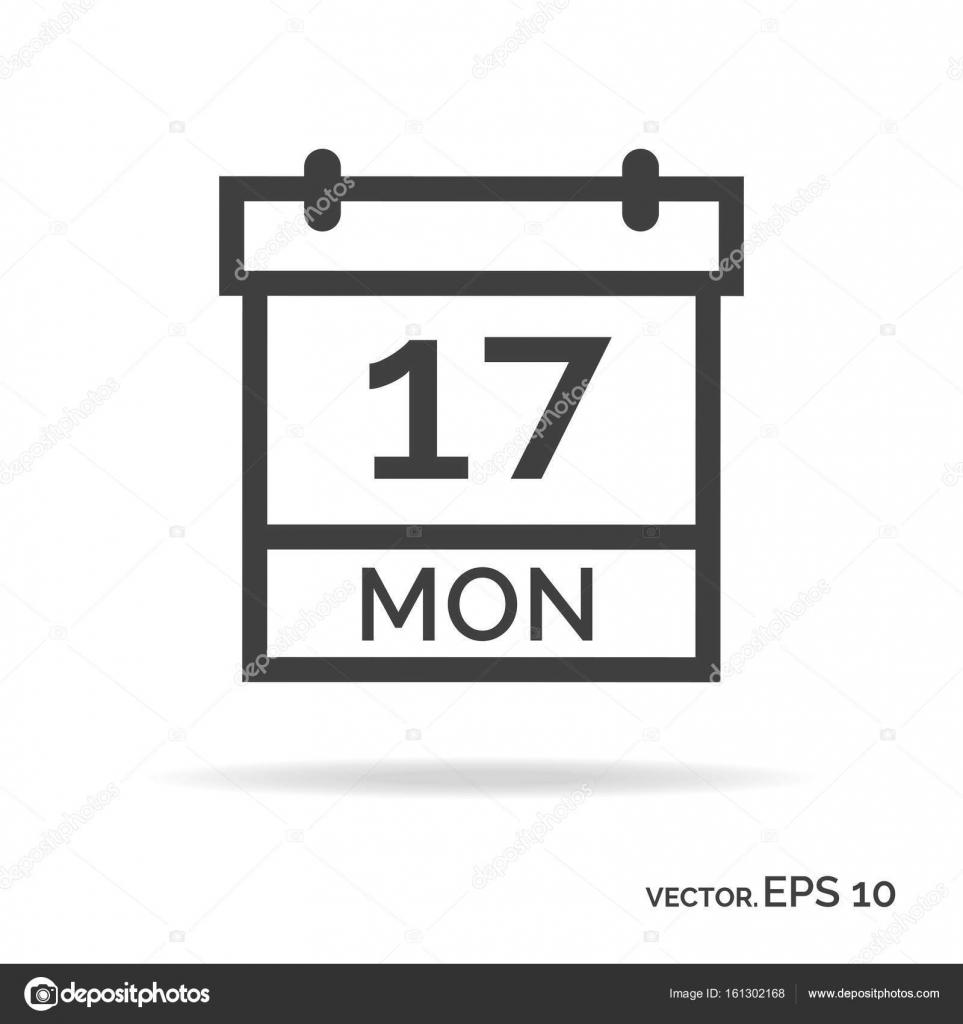 calendar outline icon black color stock vector vi6277 161302168