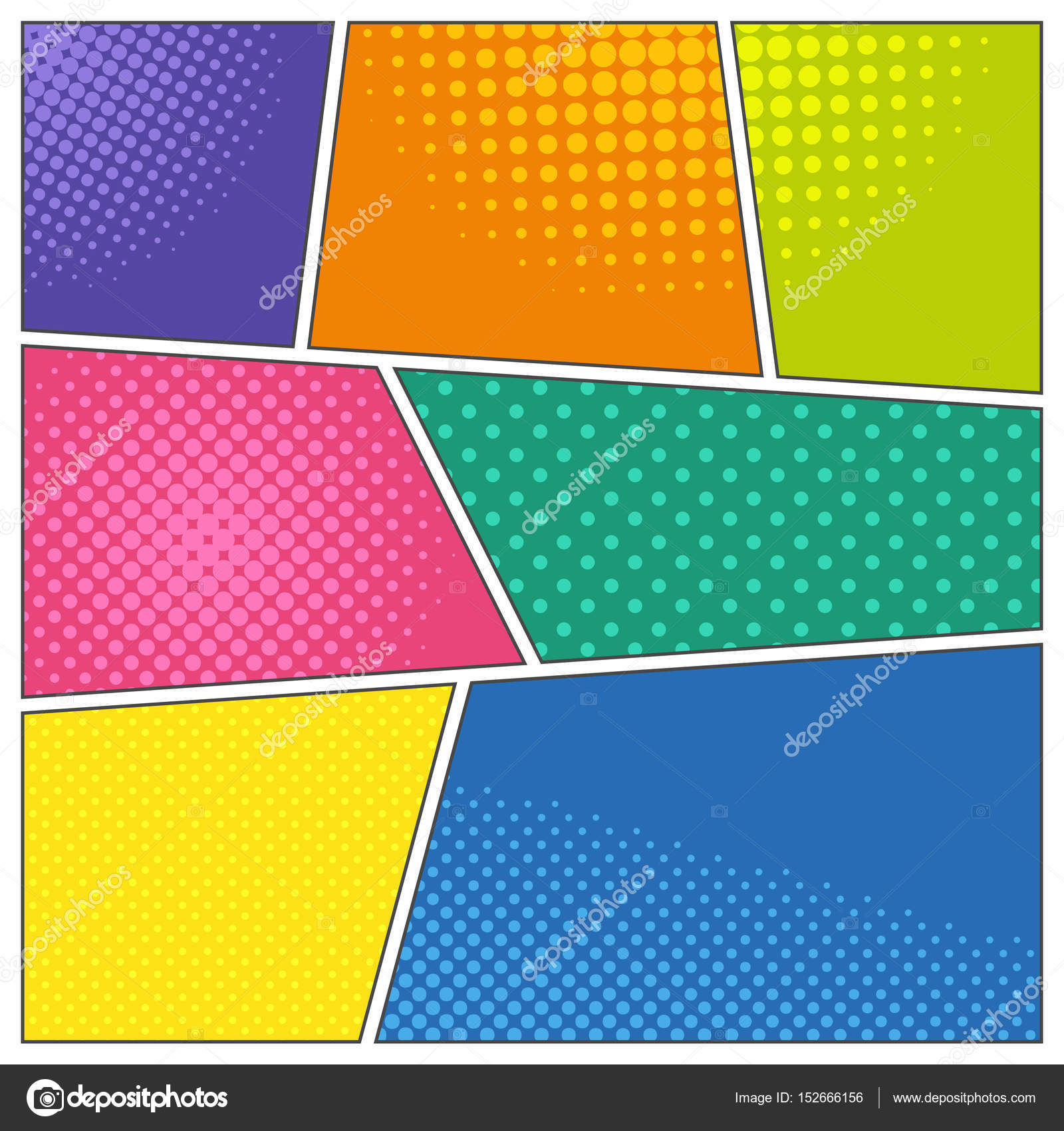 Comic book frames — Stock Vector © Petersenurecoff.gmail.com #152666156