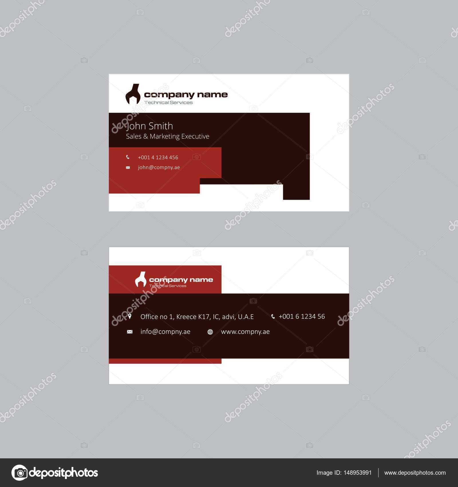 Construction company business card design stock vector construction company business card design stock vector colourmoves