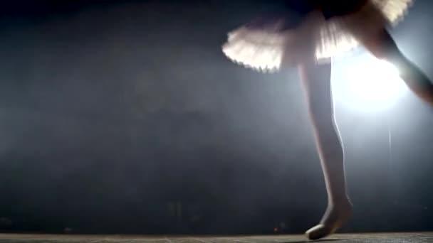 Mädchen tanzen Ballett auf der Bühne
