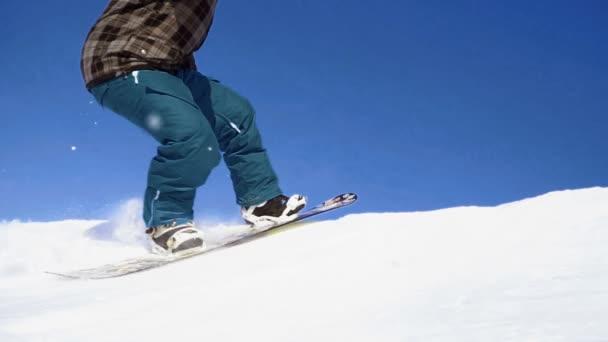 snowboarding, skoky na kicker