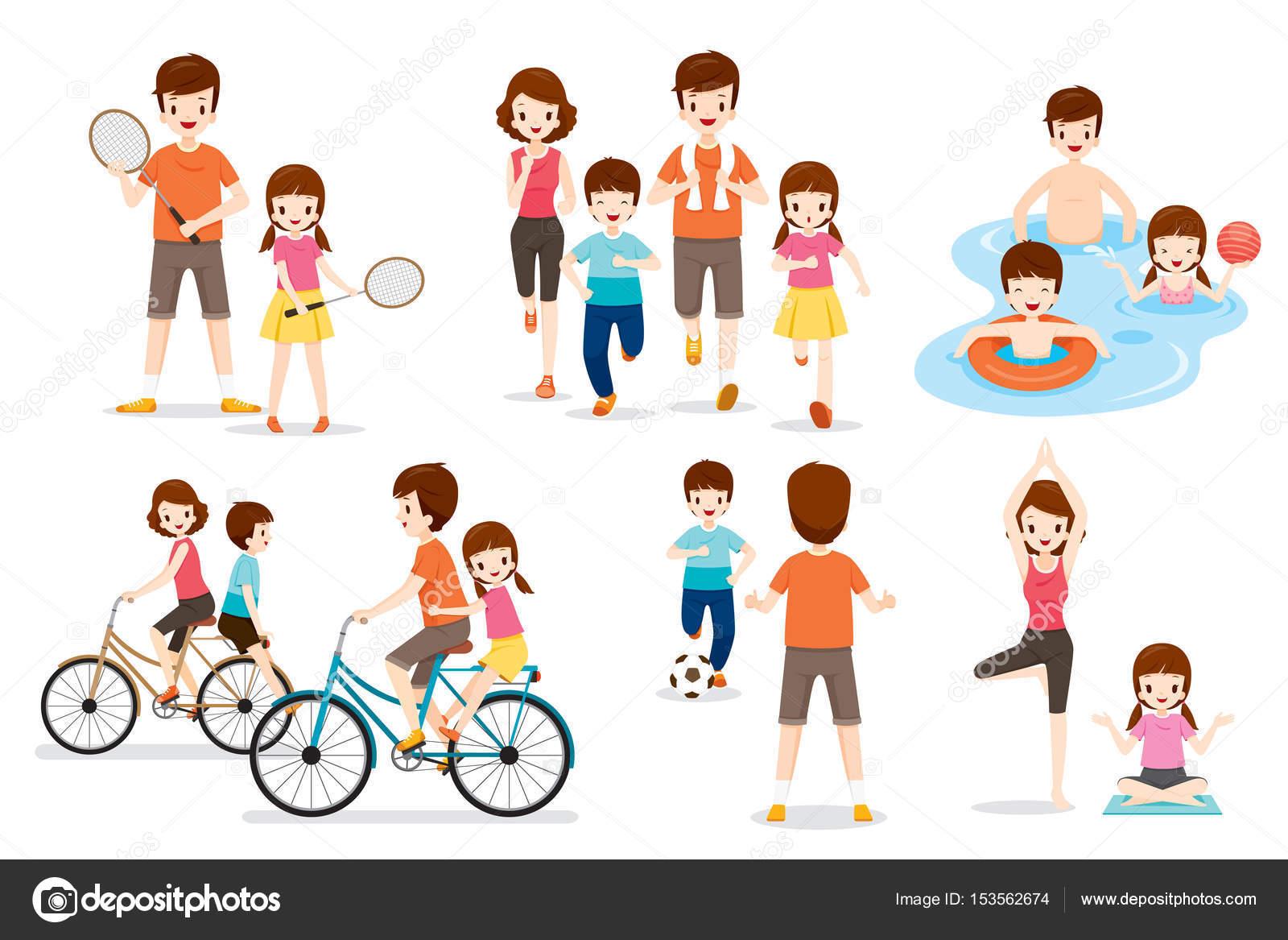 Conjunto de la familia con diversos ejercicios y for Tipos de familia pdf