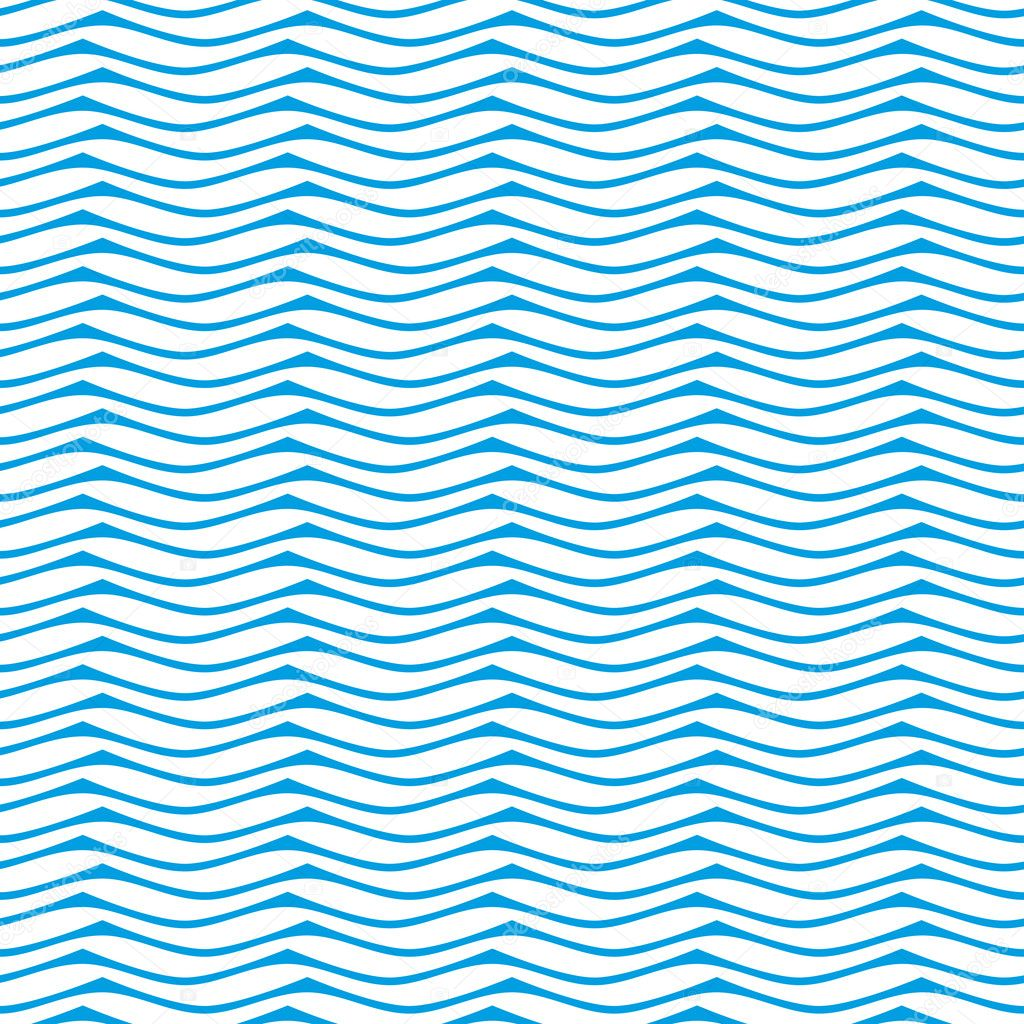 Seamless wave pattern background.