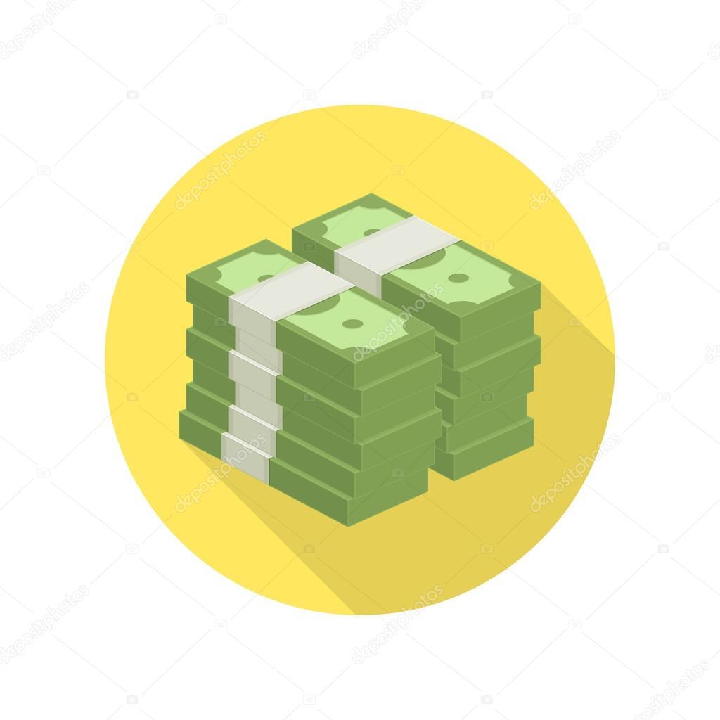 pile of money vector icon stock vector art sonik 128187796