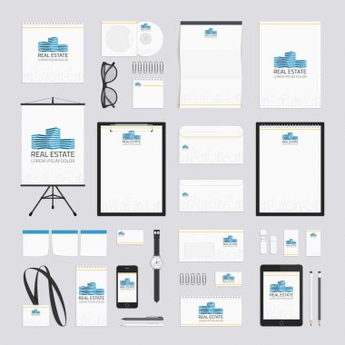 Real estate corporate style template.