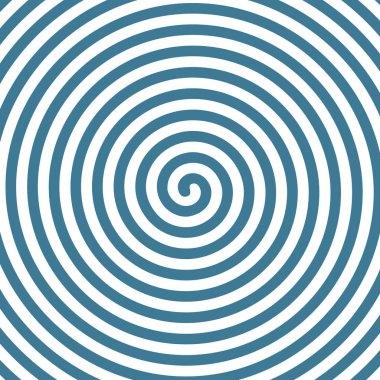 Spiral hypnotic background.
