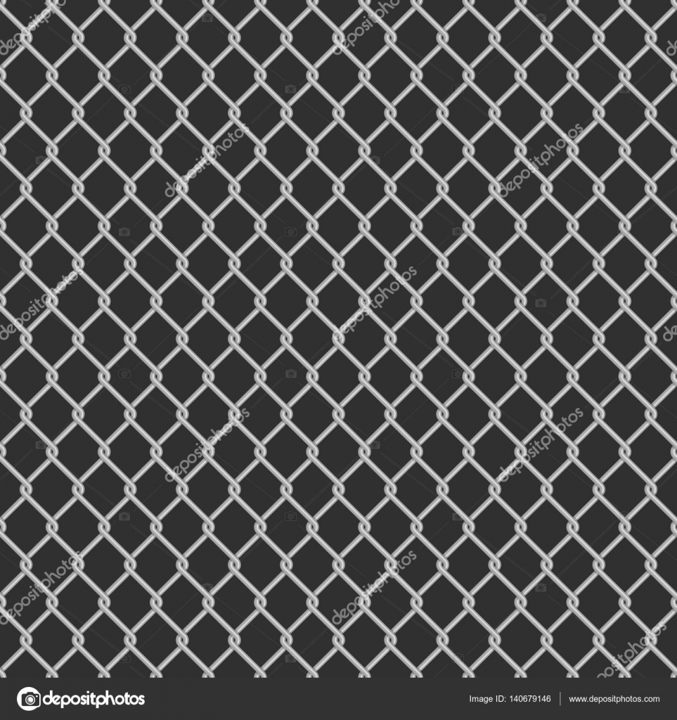 Seamless chain link fence background. — Stock Vector © art-sonik ...