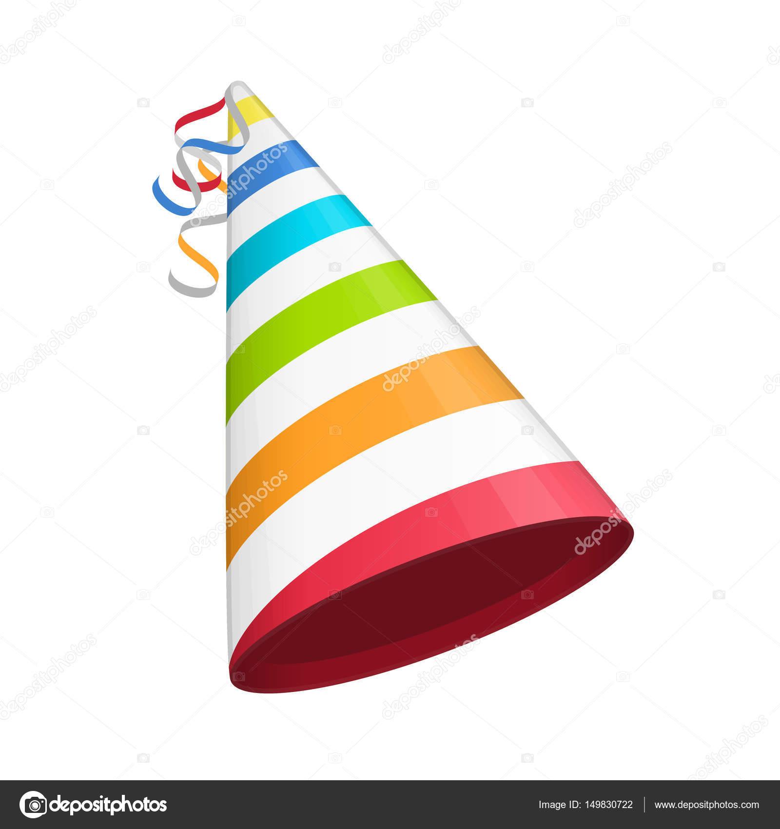 Cappellino da festa colorata — Vettoriali Stock © art-sonik  149830722 59dc1e14ff0c