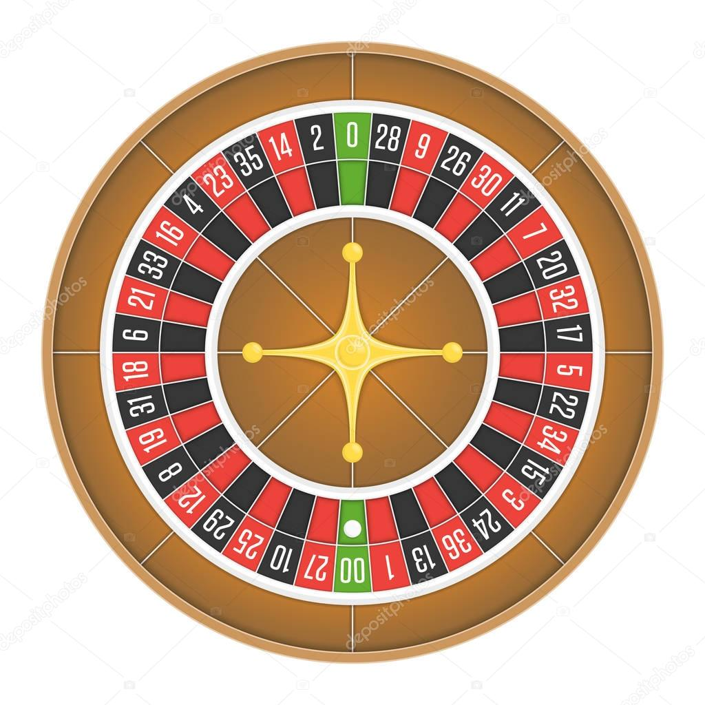 Roulette Wheel and Table Layout - Number Sequence
