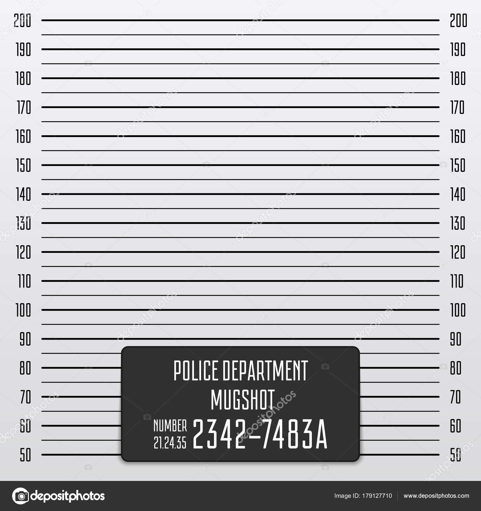polizei mugshot hintergrund � stockvektor 169 artsonik