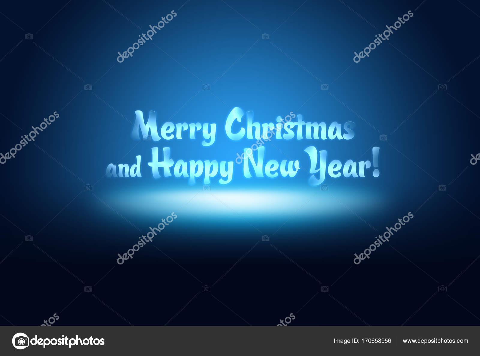 Digital Blue Business New Year Abstract Dark Happy Light