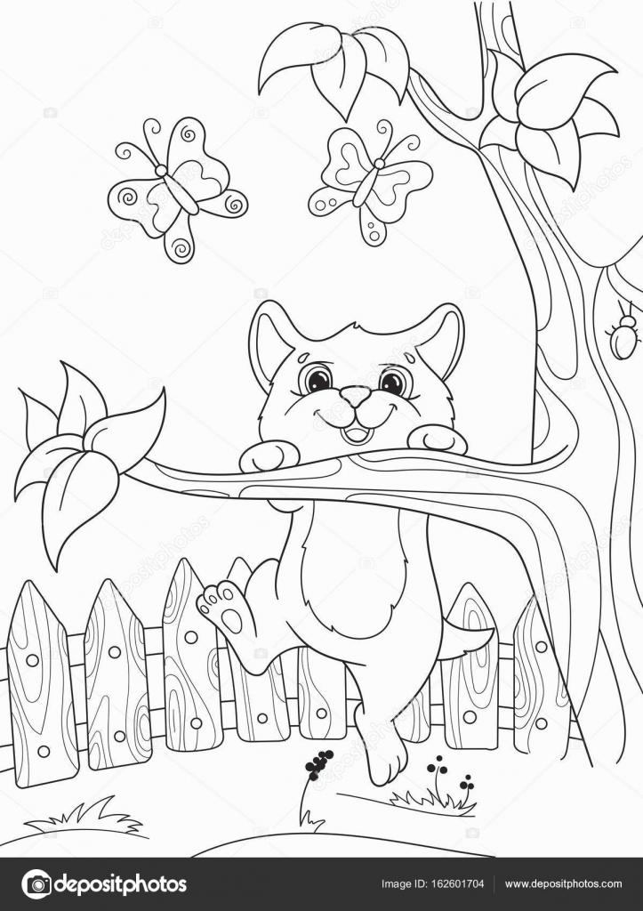 Para niños colorear dibujos animados amigos animales en la ...