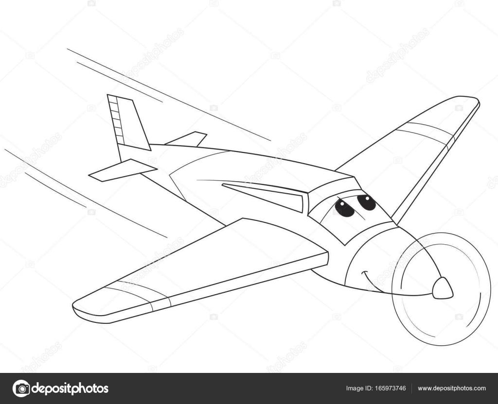 Imágenes Transporte Aéreo Para Dibujar Plano Con Las