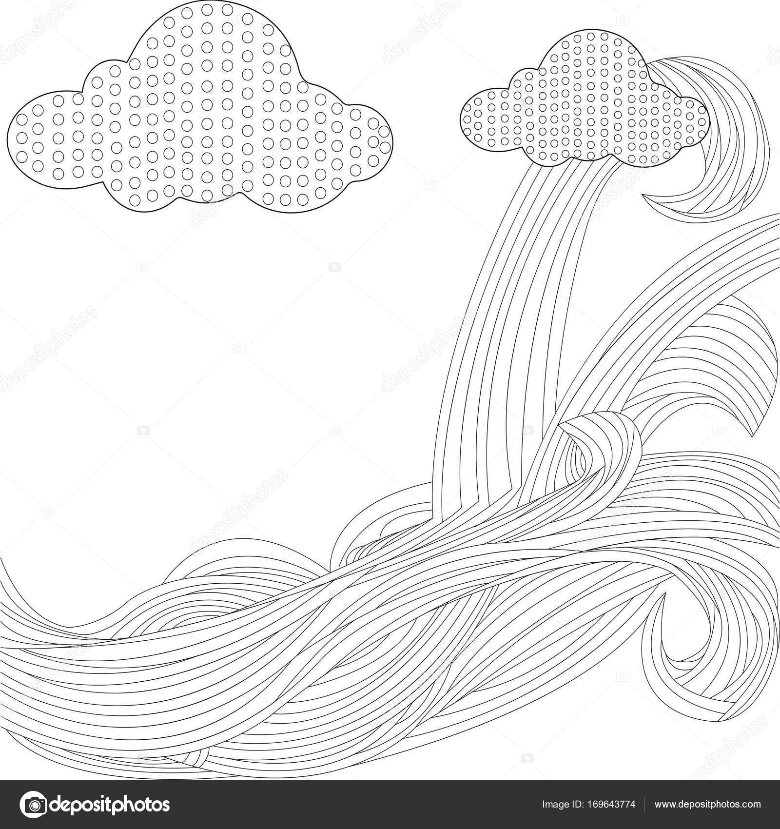 Himmel mit Wolken Motorhaube raster — Stockfoto © toricheks2016 ...