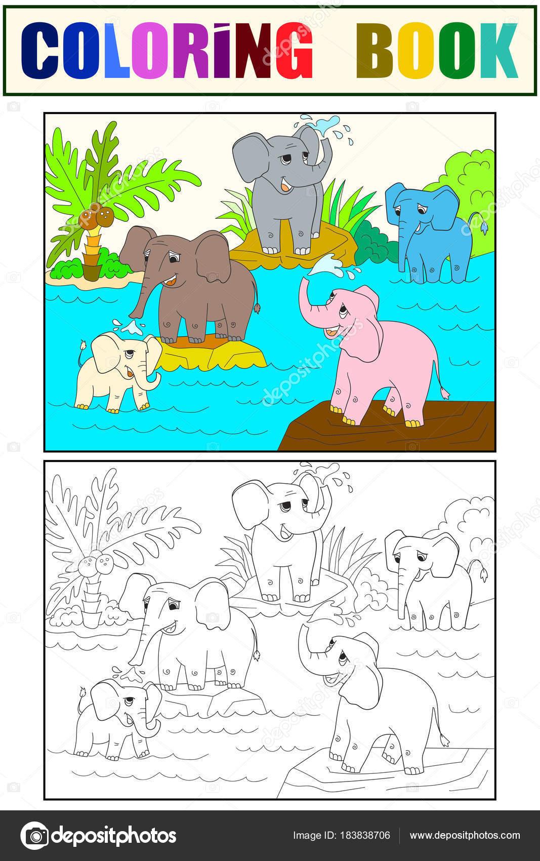 Dibujos Familia Infantiles Familia De Libro De Color De Los