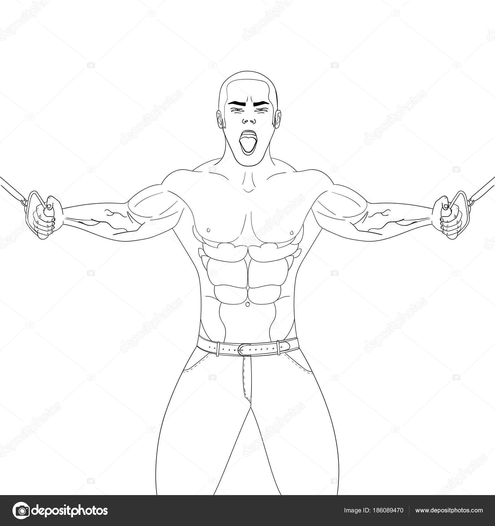 Spor Salonunda Vücut Geliştiricisi Atlet Kilo çeker Beyaz Bir Arka