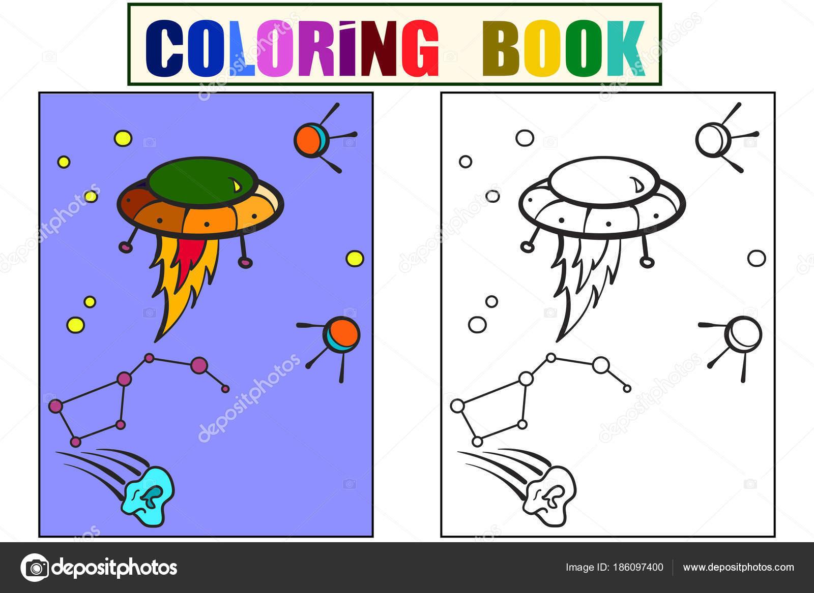 Transporte espacial, extraterrestres en el cielo. Constelación y ...