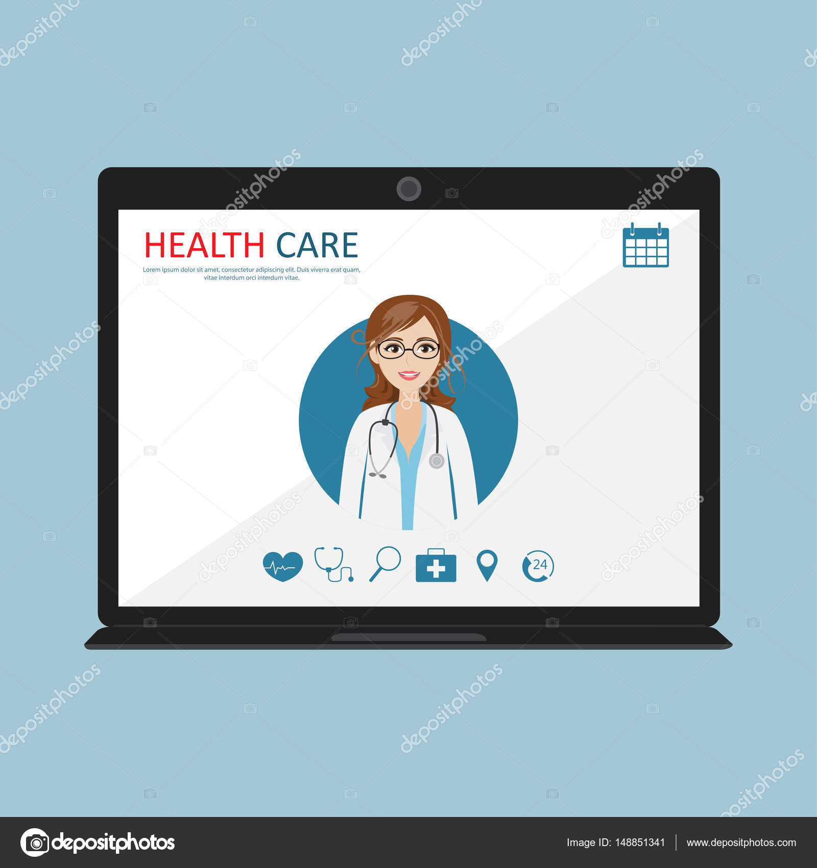 Doctor Consultation Banners Job Training Banners