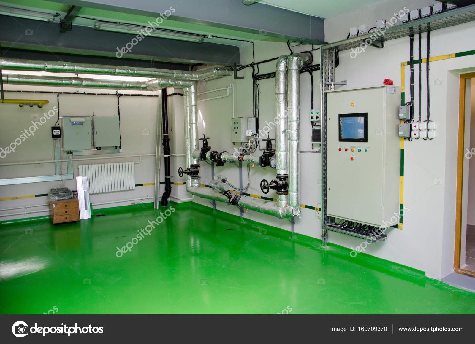 O Interior De Uma Caldeira De G S Industrial Moderna Tubula Es