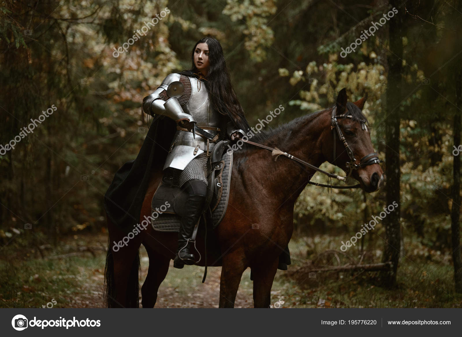 ᐈ Fantasy Horse Armor Stock Photos Royalty Free Fantasy Rider Horse Images Download On Depositphotos