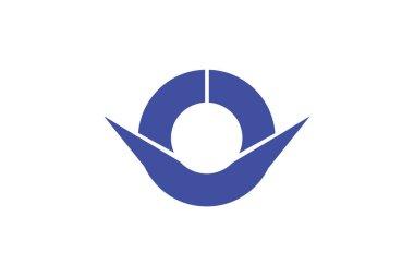 The flag of Hashimoto. Japan
