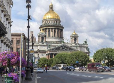 Saint Isaac's Cathedral. St. Petersburg