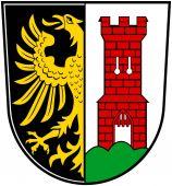 Fotografie Wappen der Stadt Kempten. Deutschland